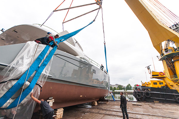 Sunreef Yachts Launches Its 3rd Yacht in a Month – 70 Sunreef Power SKYLARK