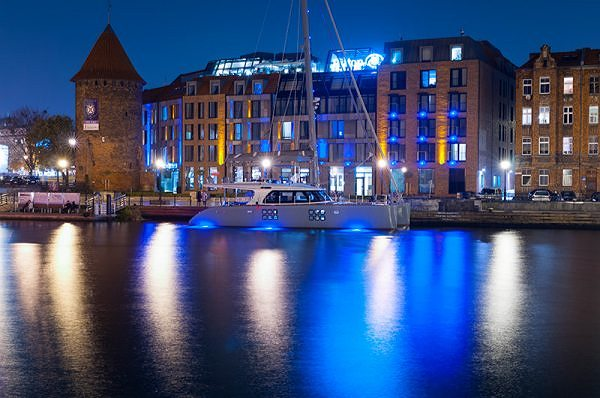 Sunreef 58 CARPE DIEM Officially Christened at the Embankment of the Hotel Hilton in Gdansk