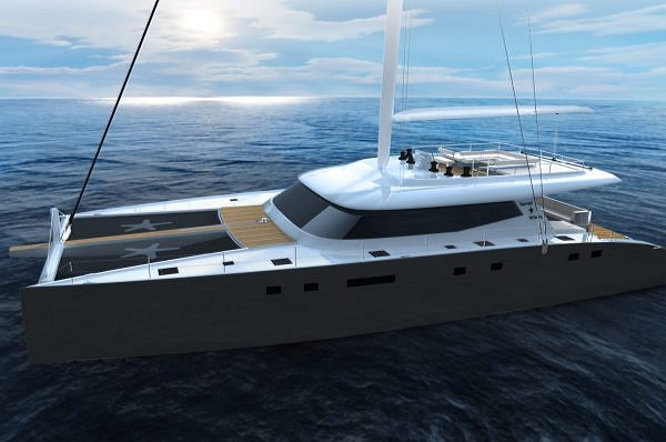 Progress on the Construction of the New Superyacht, Sunreef 80 Sailing