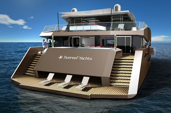 Sunreef Yachts keeps perfecting its revolutionary project of a motoryacht-catamaran, 85 Sunreef Power