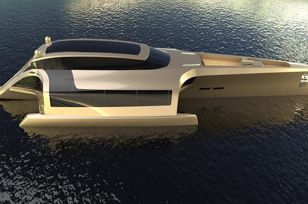 Sunreef Yachts Introduces Its Very First Concept Luxury Trimaran – the TRIMARAN 210