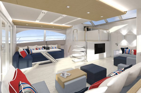 The Fifth Unit of the Popular 60 Sunreef Power Catamaran Just Launched