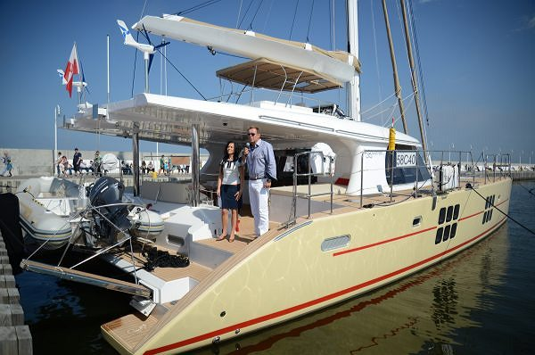 Sunreef 58 SUMMERFIELD Officially Christened!