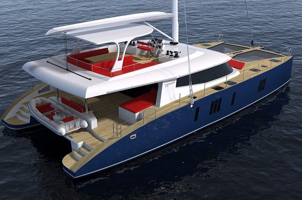 Sunreef Yachts Presents the New Sunreef 74 Sailing Catamaran