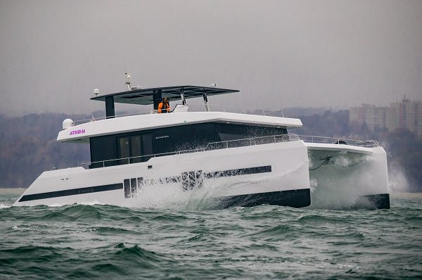 The Sunreef Supreme 68 Power Athena's Outstanding Performance During Her Baltic Sea Trials