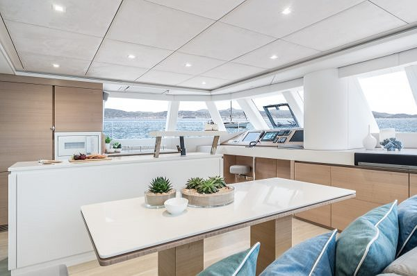 The Custom Sunreef 62 Annette 2 Reveals Her Sublime Interiors