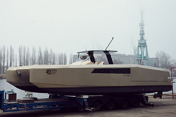 Sunreef Yachts спускает на воду 40 Open Sunreef Power