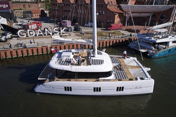 THE NEW SUNREEF 80 AND SUNREEF 60  A SPECTACULAR PRE-PREMIERE AT THE POMORSKIE RENDEZ-VOUS 2018