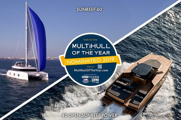 Two Sunreef Yachts Nominated For the Multihull of the Year Award