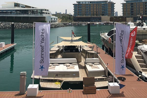 Sunreef Yachts принимают участие в челлендже Arabian Gazelles Rush-A-Way в Дубае