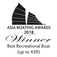 40 Open Sunreef Power - Best Recreation Boat up to 45ft - Asia Boating Awards 2018