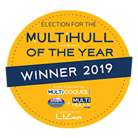 40 Open Sunreef Power - Multihull of the Year - Winner 2019