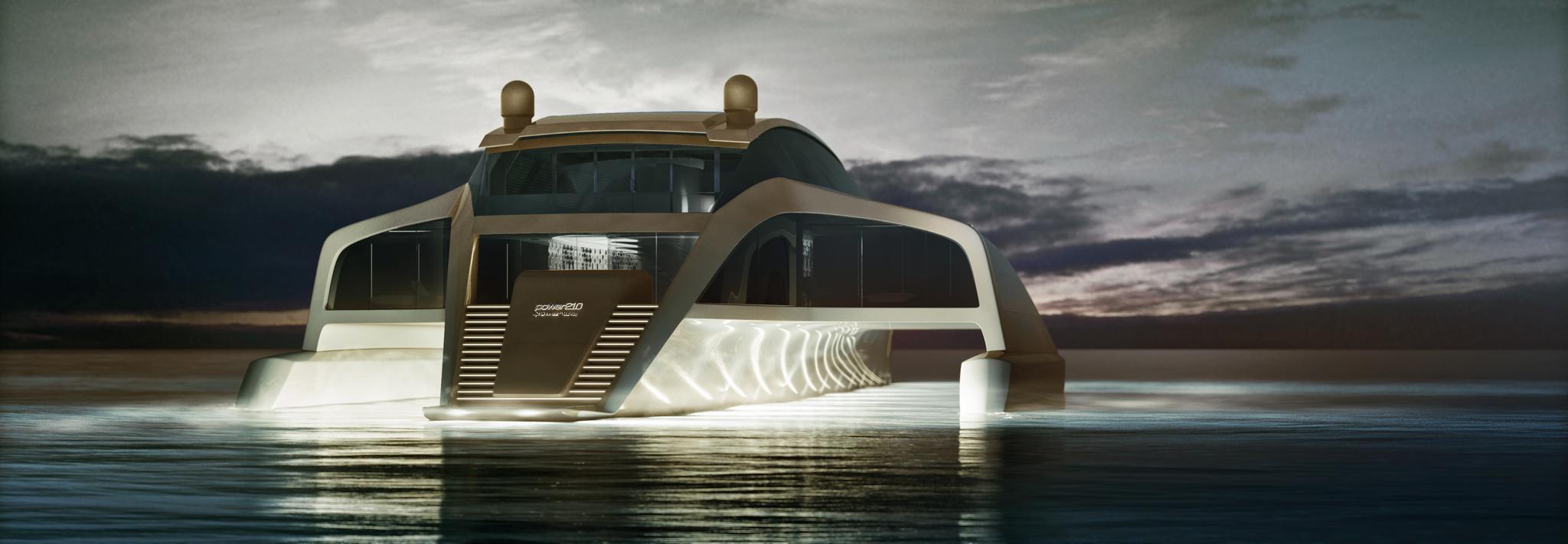 210 Sunreef Power Trimaran - Sunreef Yachts