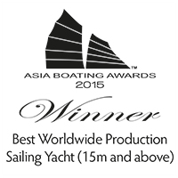 Sunreef 74 -  Best Worldwide Sailing Yacht Above 15m - Asia Boating Award 2015