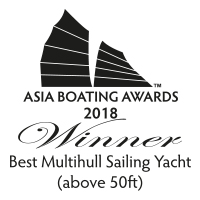 Sunreef 88 Double Deck - Best Multihull Sailing Yacht above 50 ft - Asia Boating Awards 2018